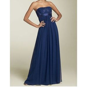 BCBG MaxAzria strapless formal Prom dress petite